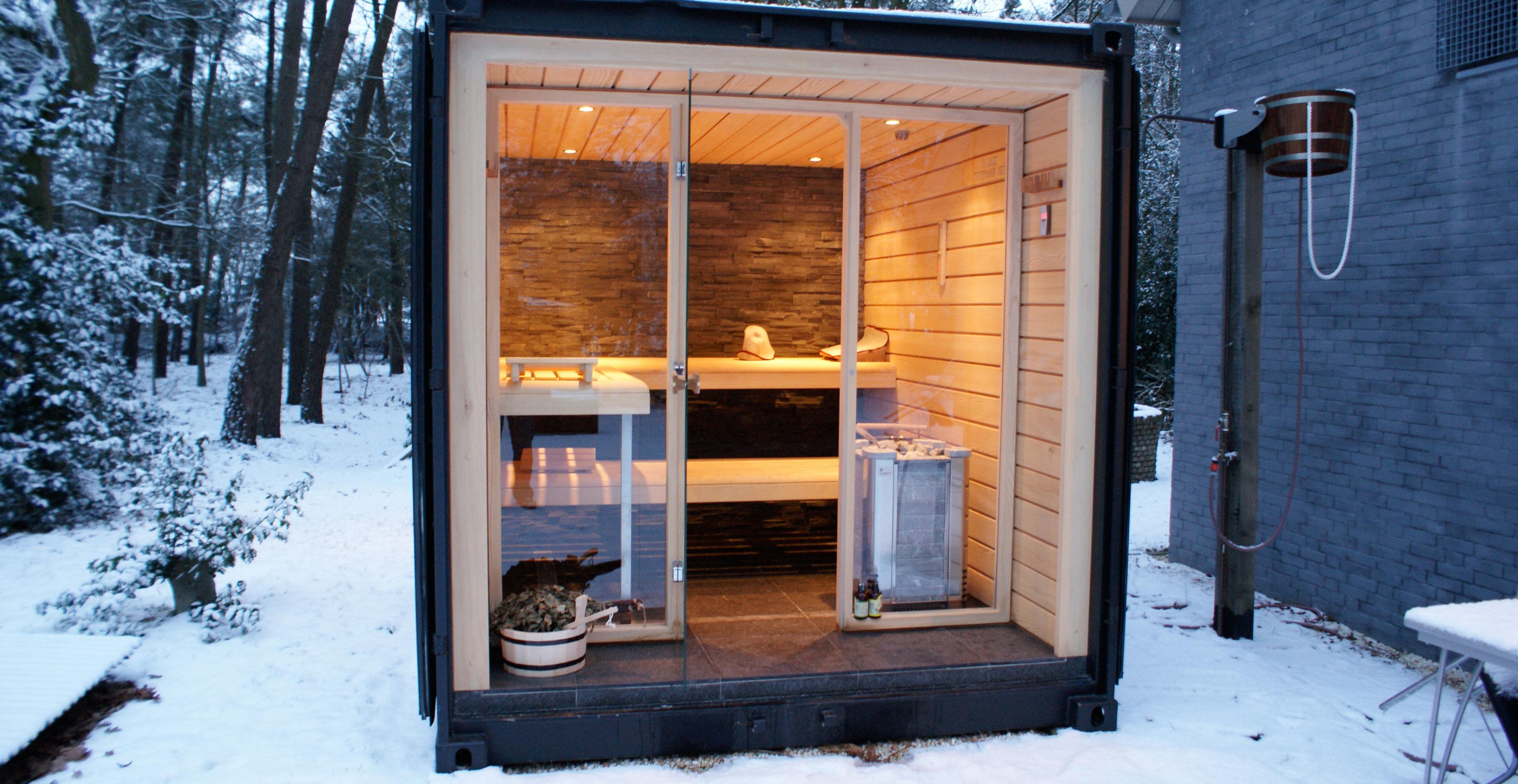 Geniet van deze unieke sauna